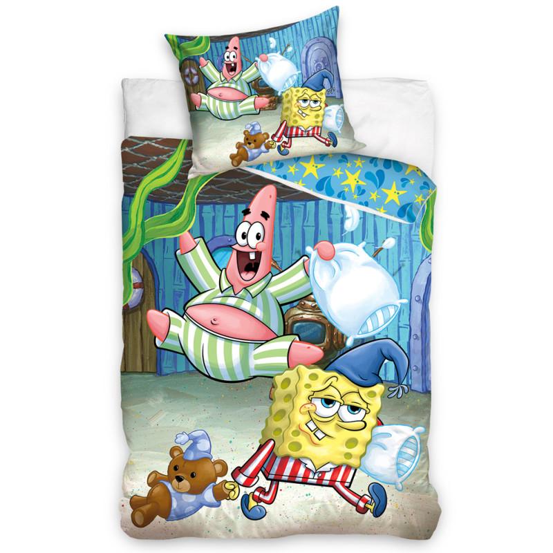Povlečení Sponge Bob Pyžamová Párty