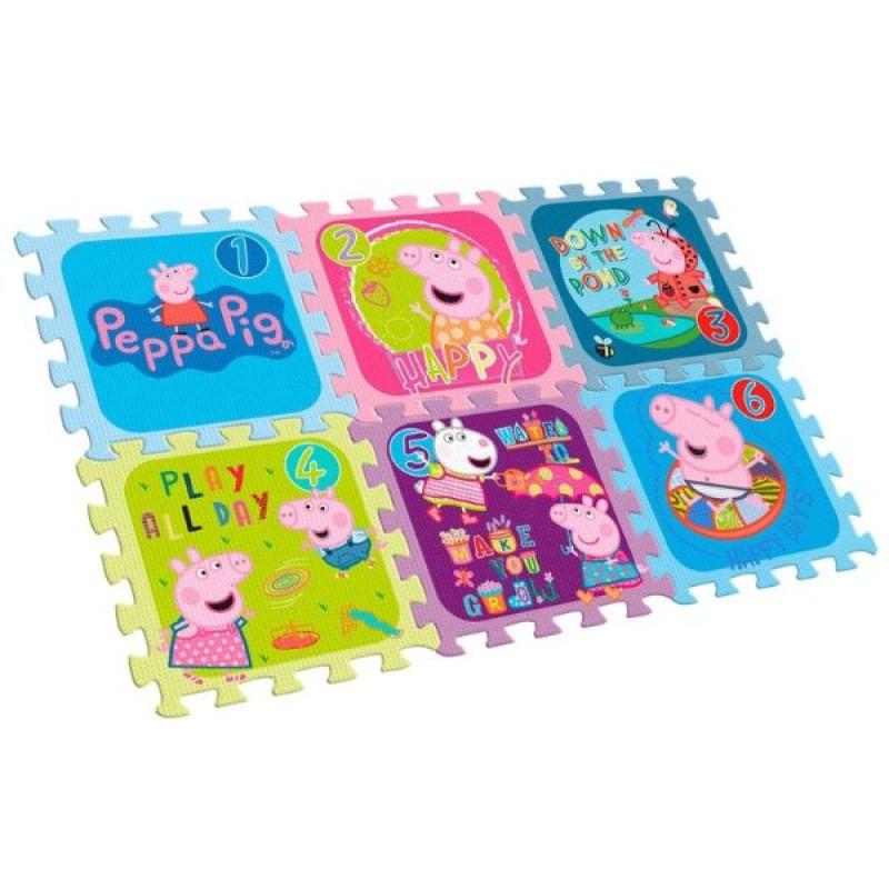PUZZLE Peppa Pig 6 dílků