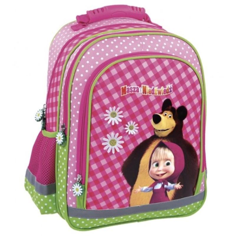 Školní batoh Máša a Medvěd