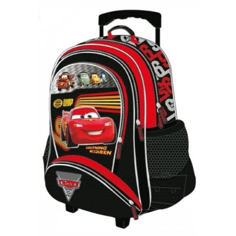 Školní batoh na kolečkách Cars