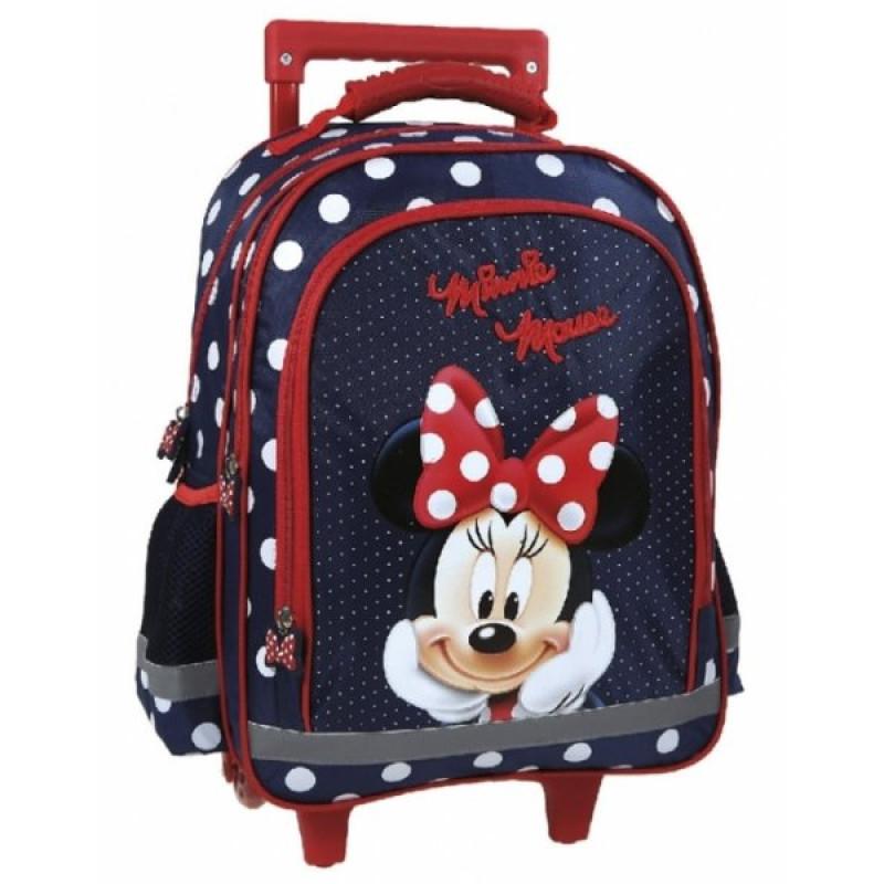 Školní batoh na kolečkách Minnie