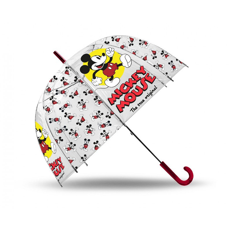 Deštník Mickey průhledný
