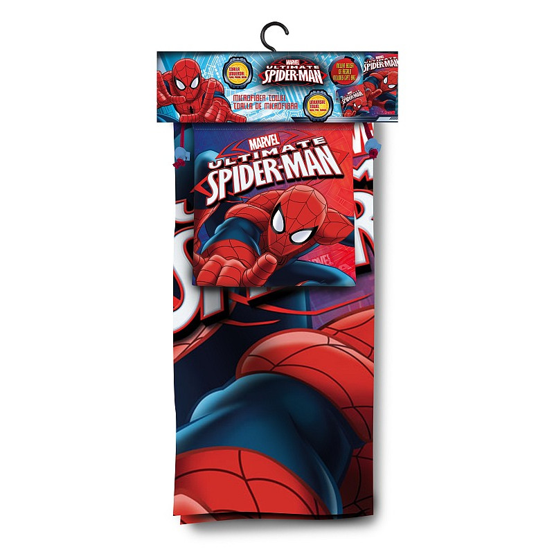 Osuška a taška Spiderman
