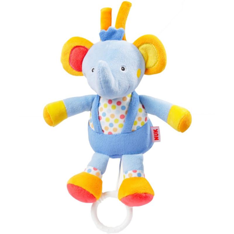 Plyšová hrající hračka Nuk sloník