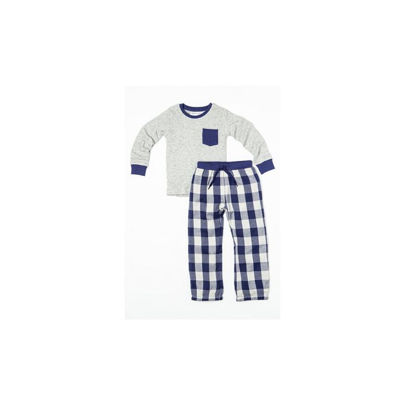 Pyžamo Kostky