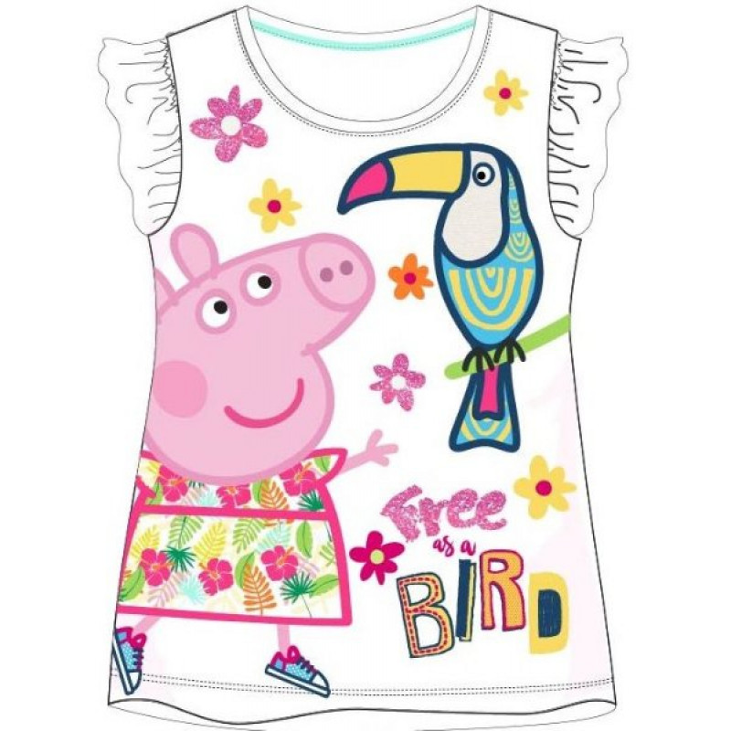 Tričko Peppa Pig Papoušek