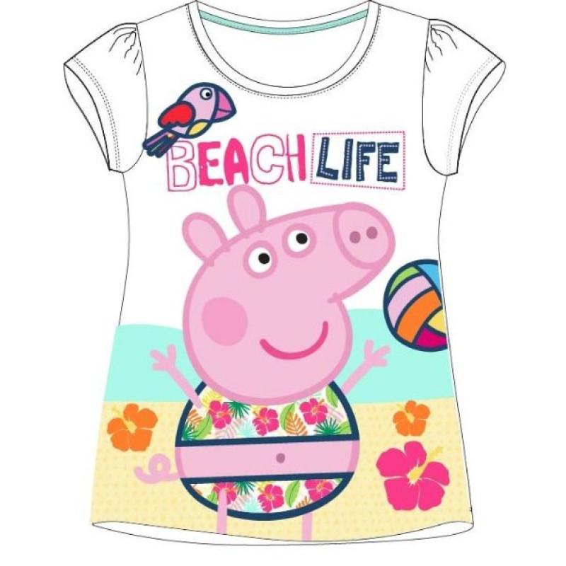 Tričko Peppa Pig Pláž
