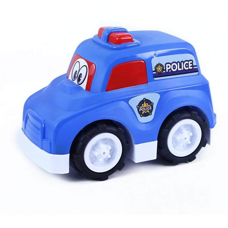 Auto policie veselé v krabici