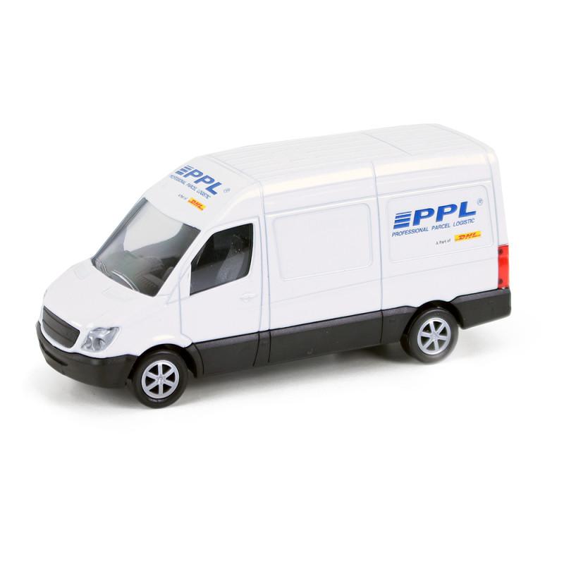 Kovové auto PPL, 12 cm