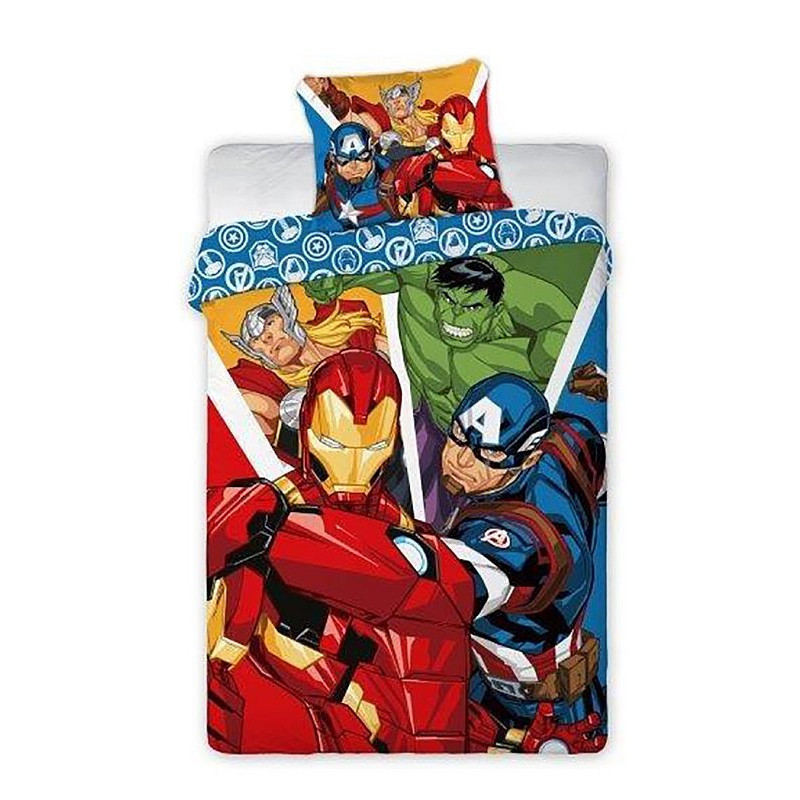 Povlečení Avengers hrdinové