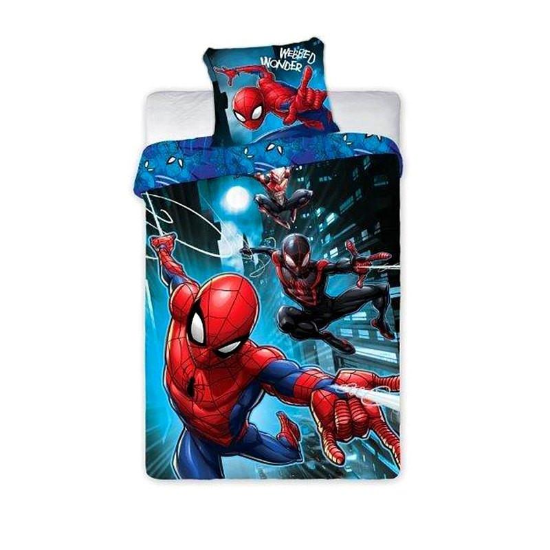 Povlečení Spiderman noc