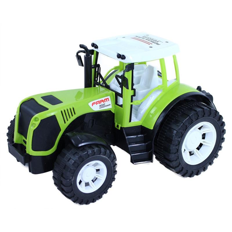 Traktor farmářský v krabici, 27 cm