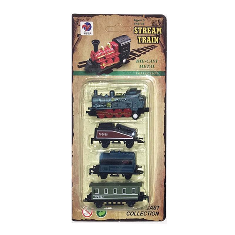 Vlak kovový mini