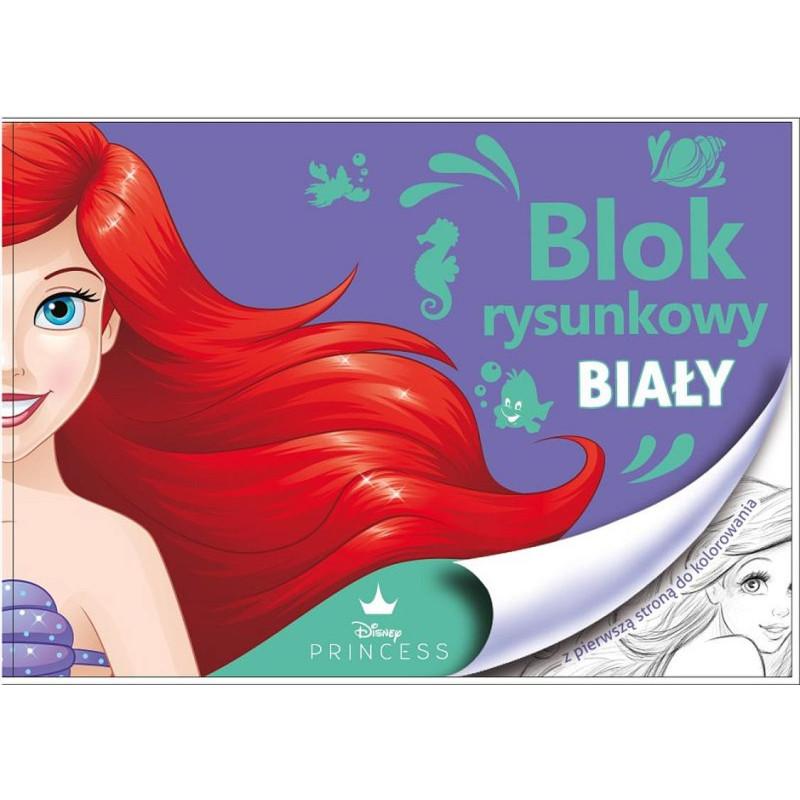 Blok na kreslení s omalovánkami Ariel