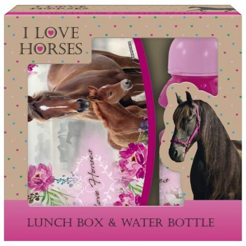 BOX NA SVAČINU A LÁHEV NA PITÍ Koně