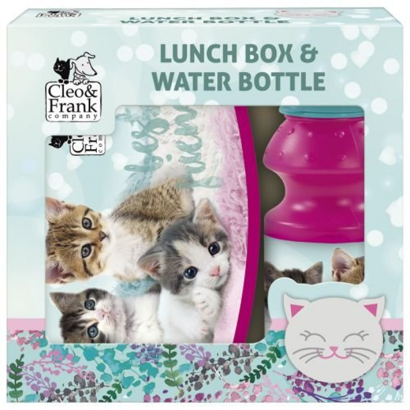 BOX NA SVAČINU A LÁHEV NA PITÍ Koťata