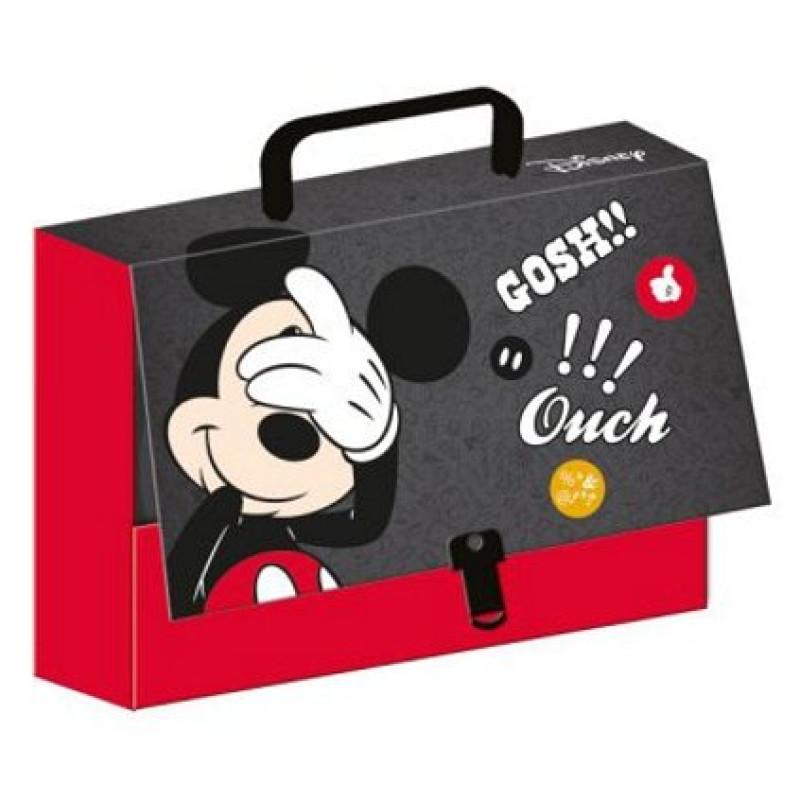 KUFŘÍK Mickey A4 s rukojetí