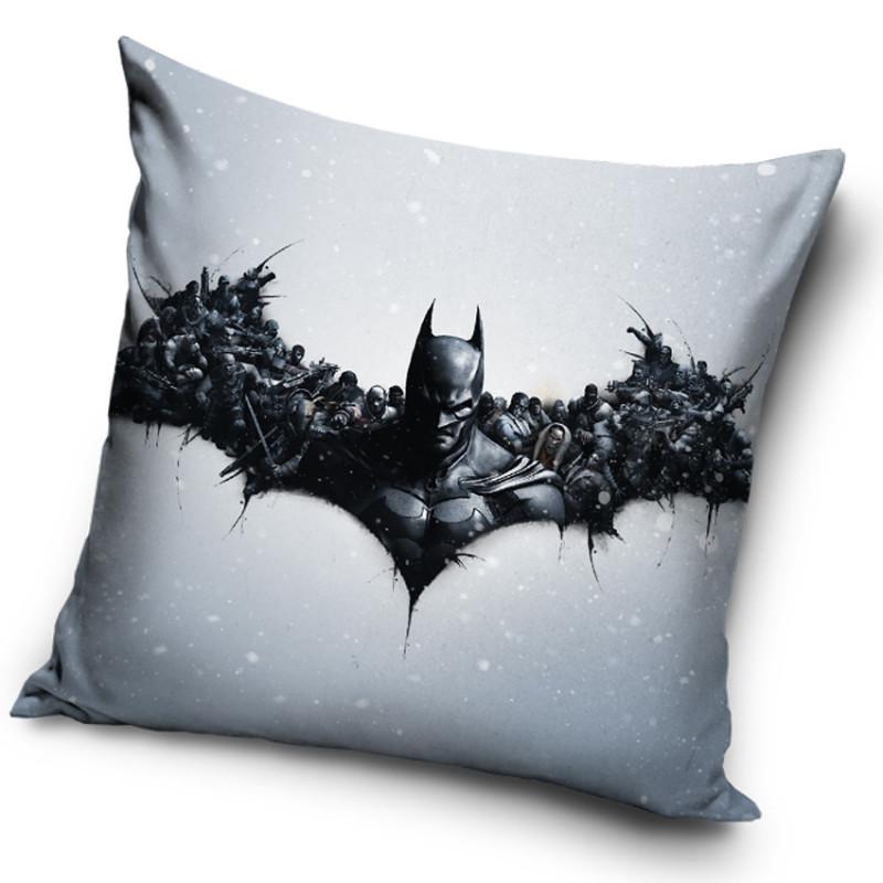 Povlak na polštářek Batman Arkham Origins Logo