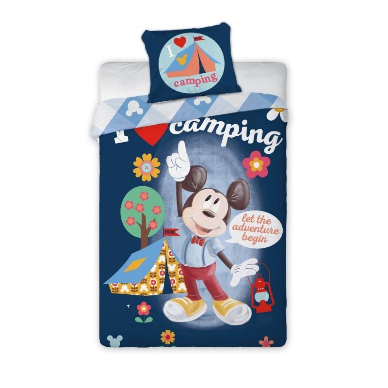 Povlečení Mickey camping