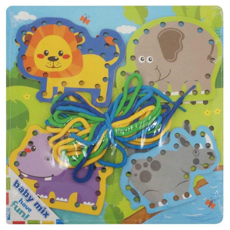 Provlékací hračka Safari