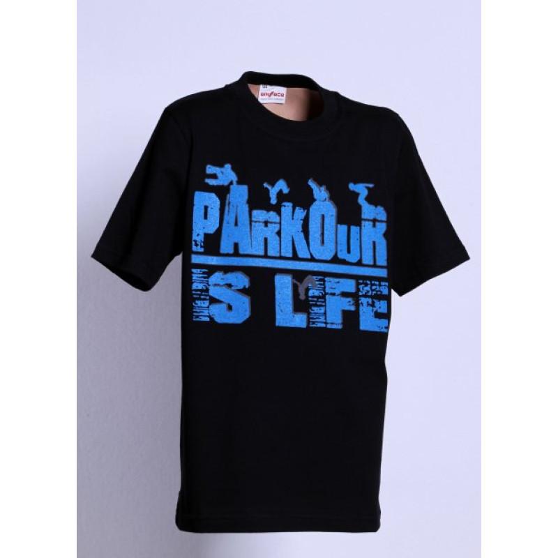 Tričko PARKOUR is life