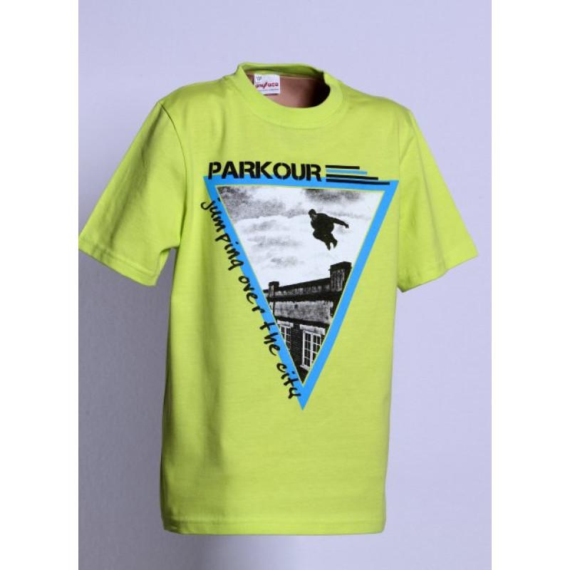Tričko PARKOUR jumping
