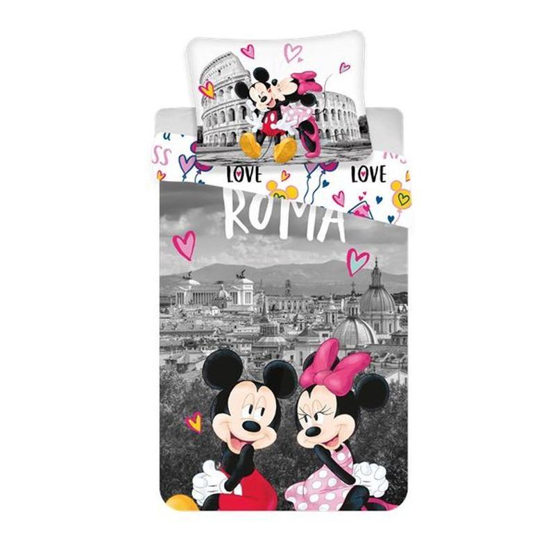 Povlečení Mickey a Minnie v Římě