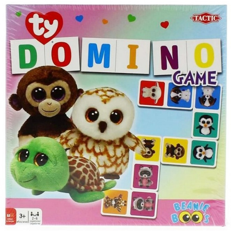 Hra Domino Beanie Boos TY
