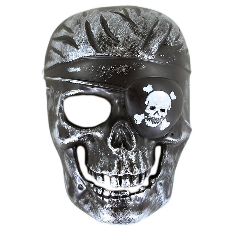 Maska kostra pirát