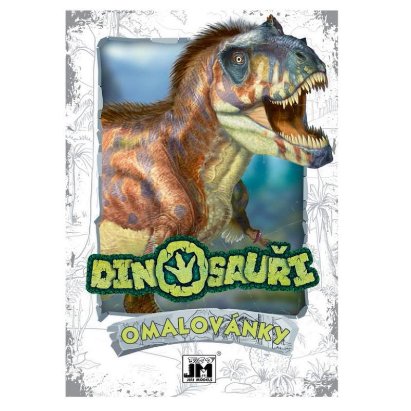 Omalovánka A5 Dinosauři