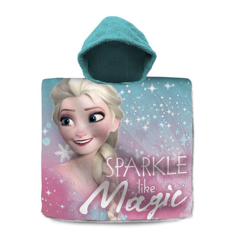 Pončo Ledové Království Elsa Magic