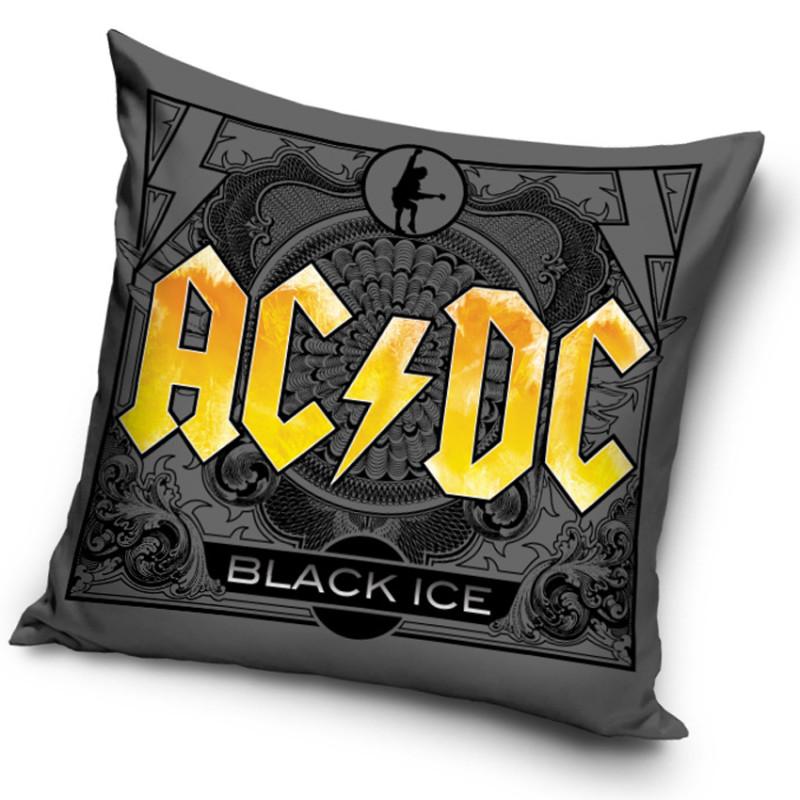 Povlak na polštář AC/DC Black Ice