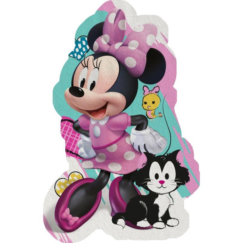 Tvarovaná Micro osuška Minnie hearts