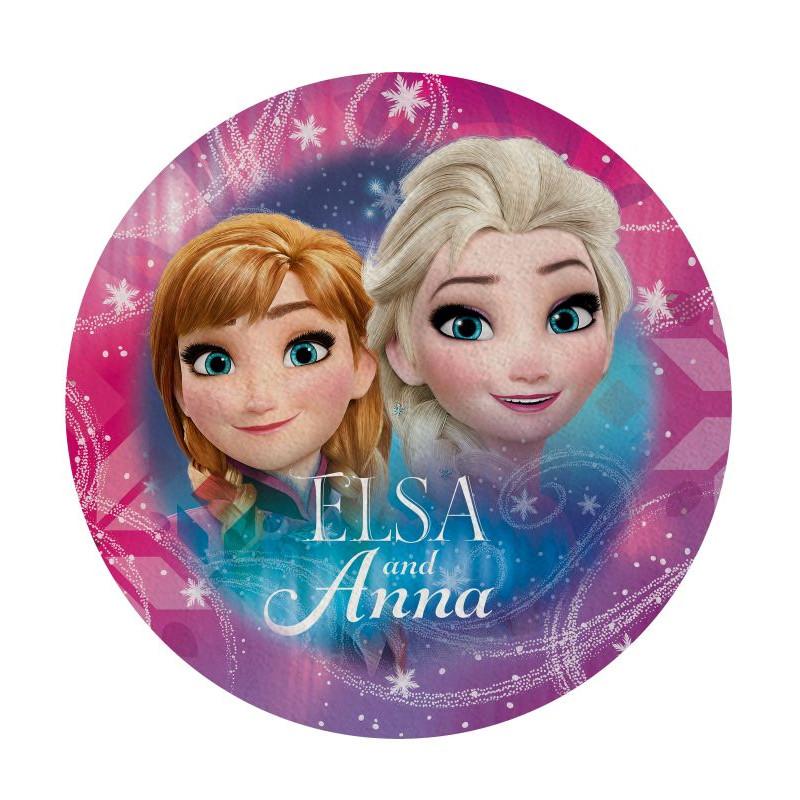 Tvarovaná osuška Ledové Království Anna a Elsa