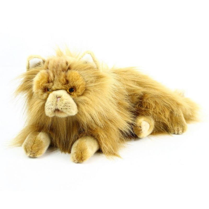 Velká plyšová perská kočka, 30 cm