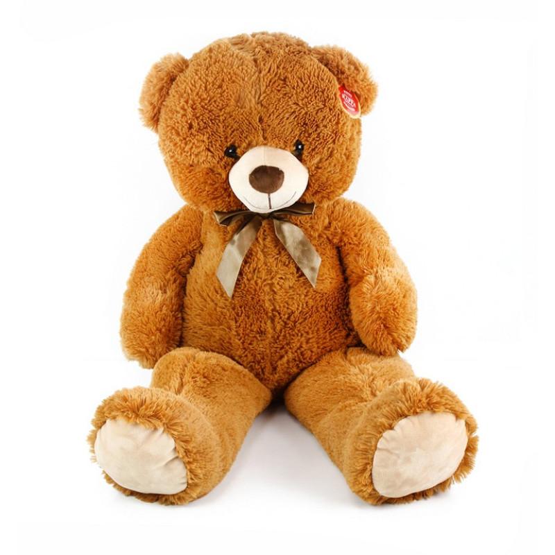 Velký plyšový medvěd Oskar, 90 cm