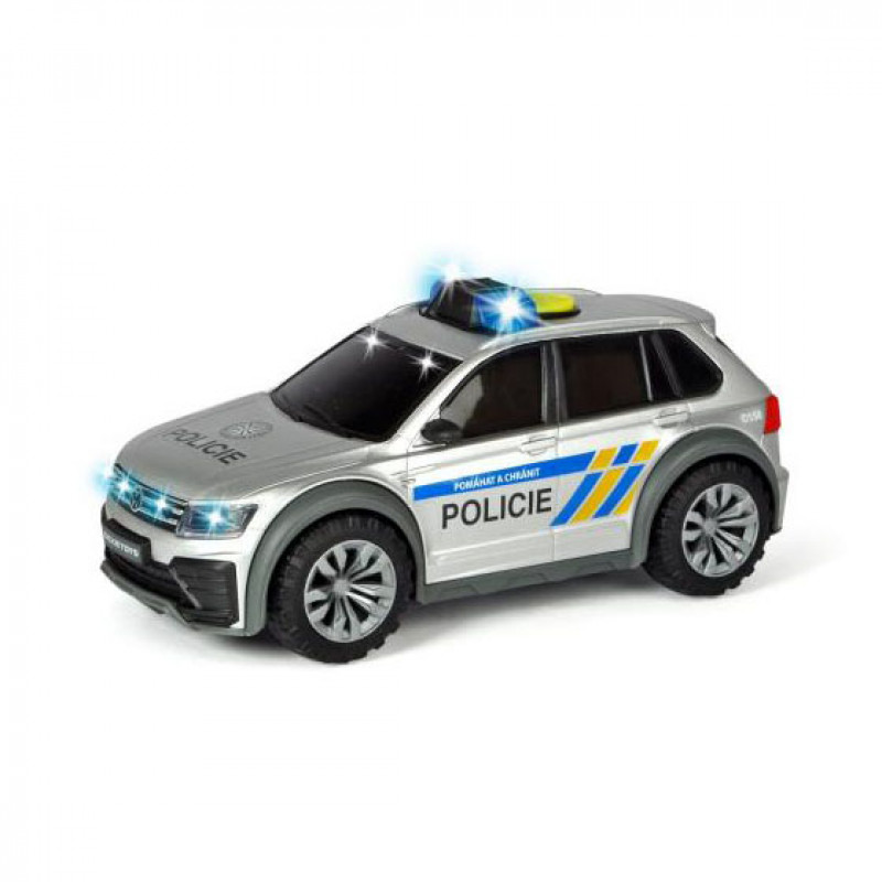 Policejní auto VW Tiguan R-Line