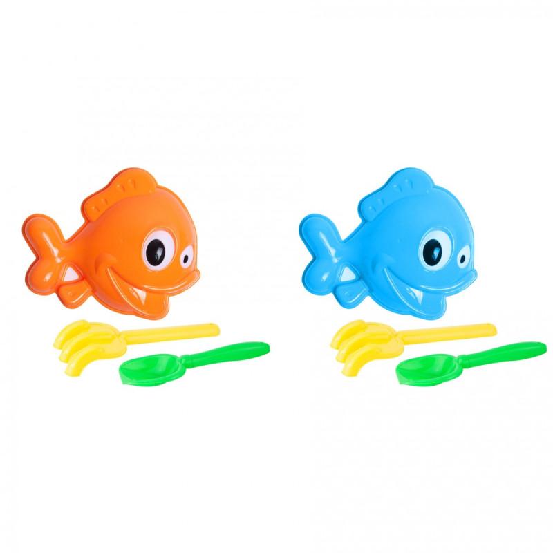 Sada na písek ryba 3 ks