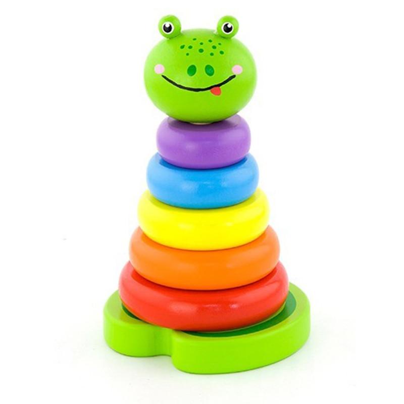 Skládací pyramida pro nejmenší Žába