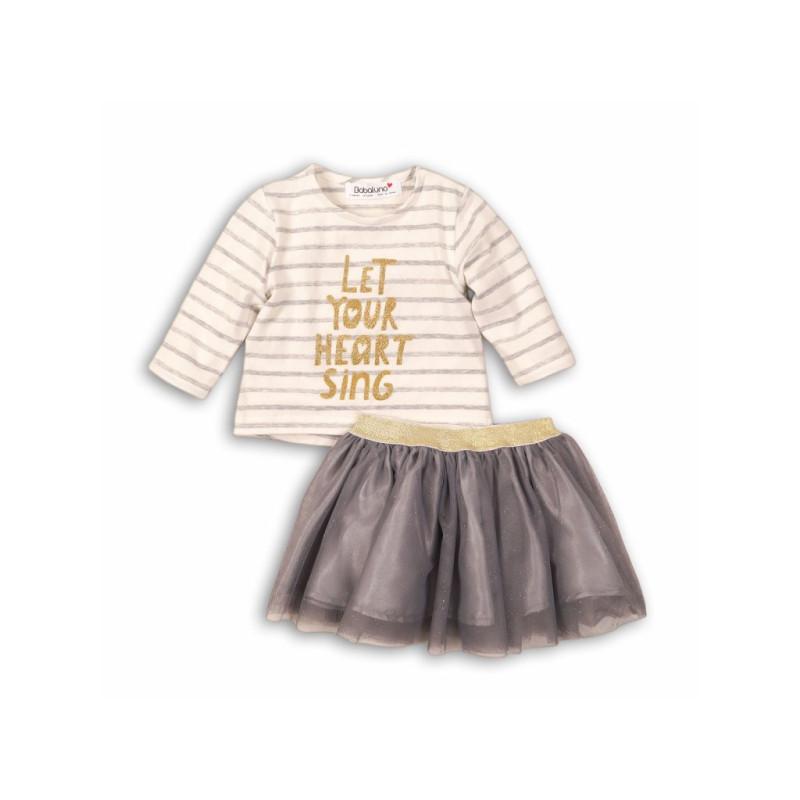 Tričko a sukně Pruhy