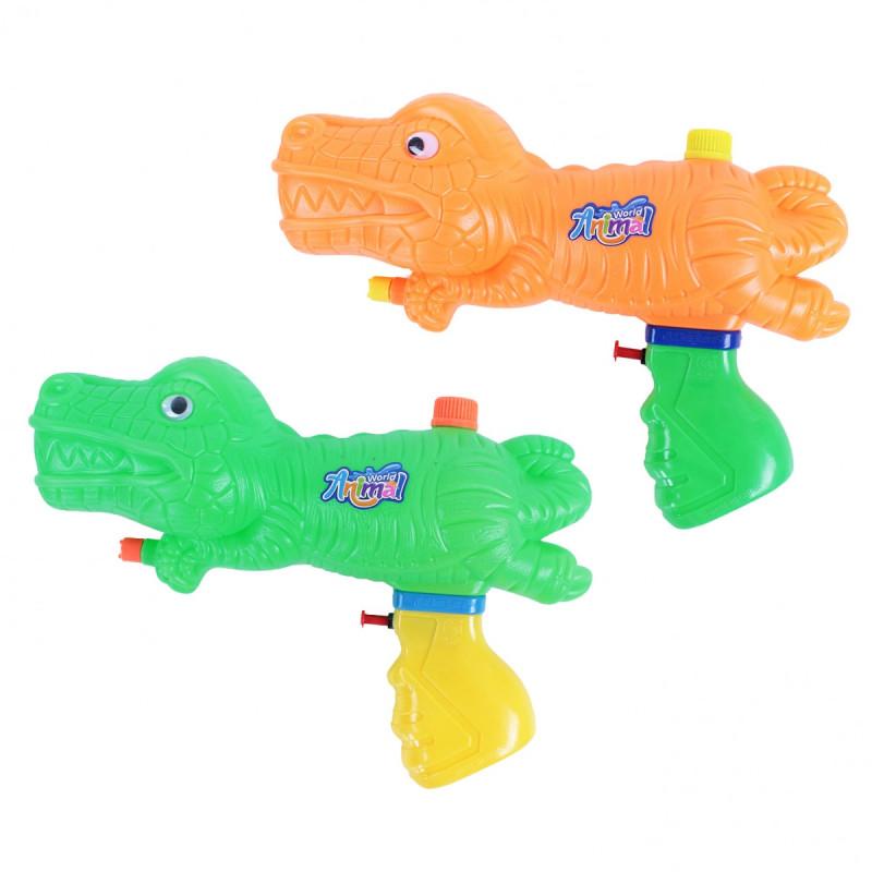 Pistole vodní krokodýl 30 cm