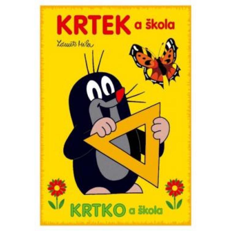 Omalovánka A5 Krtek a škola