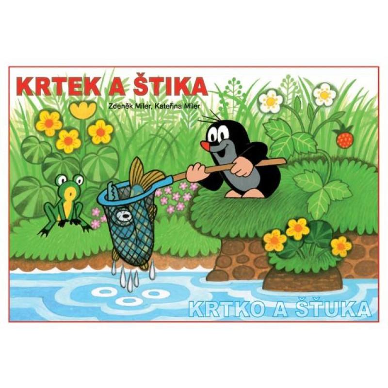 Omalovánka A5 Krtek a štika