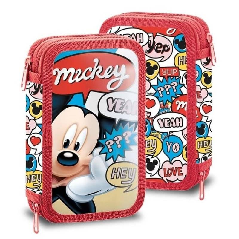 Penál Mickey Hey plný