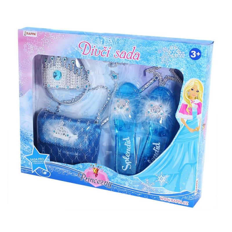 Sada princezna zimní království s kabelkou